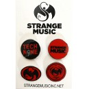 Tech N9ne - #1 SM - 3 SM/1 T9 Trading Pin Set