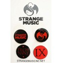 Tech N9ne - #3 T9/SM - 2 T9/2 SM Trading Pin Set