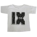 Tech N9ne - White Roman Numeral Toddler T-Shirt - 3 Toddler