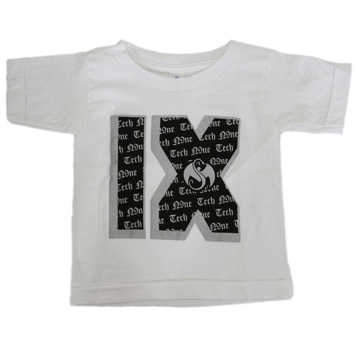 Tech N9ne - White Roman Numeral Toddler T-Shirt