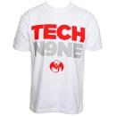 Tech N9ne - White Backwards T-Shirt