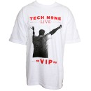 Tech N9ne - White Live VIP T-Shirt - Extra Large