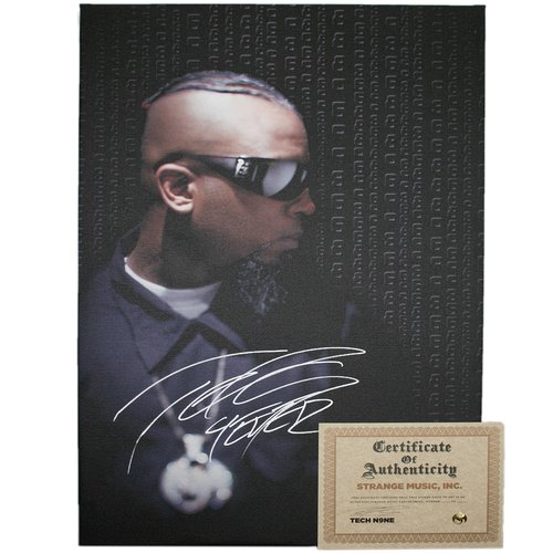 Tech N9ne - Collectors Canvas Print Everready