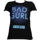 Darrein Safron - Black Bad Gurl Ladies T-Shirt