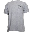 Darrein Safron - Heather Gray Mandala T-Shirt - Large