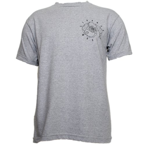 Darrein Safron - Heather Gray Mandala T-Shirt