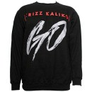 Krizz Kaliko - Black GO Sweatshirt - 2-XL