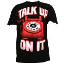 Krizz Kaliko - Black Talk Up On It T-Shirt - Medium