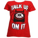 Krizz Kaliko - Red Talk Up On It Ladies T-Shirt