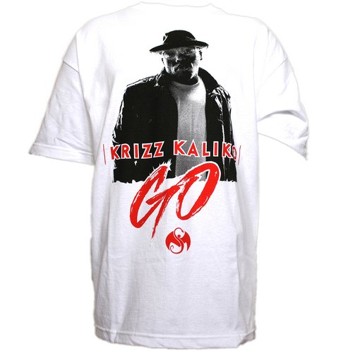 Krizz Kaliko - White Go Presale T-Shirt