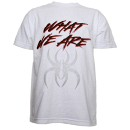 Krizz Kaliko - White What We Are T-Shirt - Extra Large