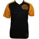 ¡MAYDAY! - Black / Yellow #1 Soccer Jersey - 2-XL