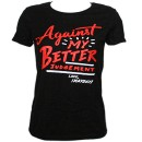 Mayday - Black Better Judgement Ladies T-Shirt