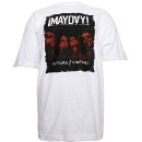Mayday - White Future Vintage Presale T-Shirt - Extra Large