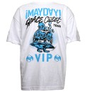 ¡MAYDAY! - White Space Cadet VIP T-Shirt - Extra Large