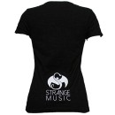 Mackenzie Nicole - Black Deleted Ladies T-Shirt