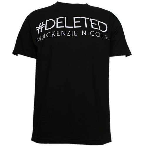 Mackenzie Nicole - Black Deleted T-Shirt