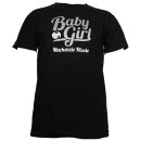 Mackenzie Nicole - Black Baby Girl Youth T-Shirt - Youth Medium