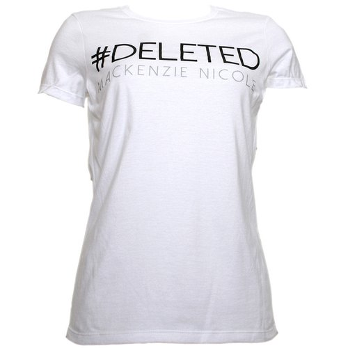 Mackenzie Nicole - White Deleted Ladies T-Shirt