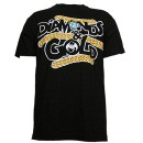 Rittz - Black Diamonds & Gold T-Shirt - Large