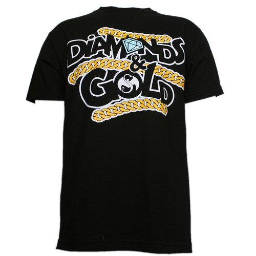 Rittz - Black Diamonds & Gold T-Shirt