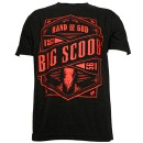 Big Scoob - Black Hand of God T-Shirt - Extra Large