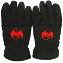 Strange Music - Black Winter Gloves - S/M