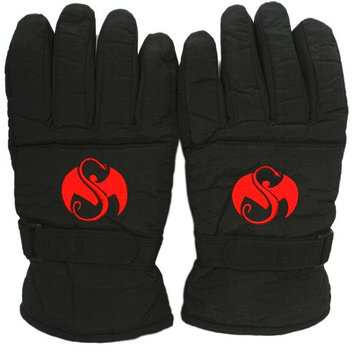 Strange Music - Black Winter Gloves