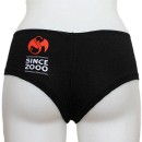 Strange Music - Black Always Strange Ladies Booty Shorts