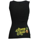 Strange Music - Black Pineapple Ladies Tank Top