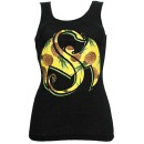 Strange Music - Black Pineapple Ladies Tank Top - Ladies Medium