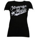 Strange Music - Black League Ladies T-Shirt - Ladies Large