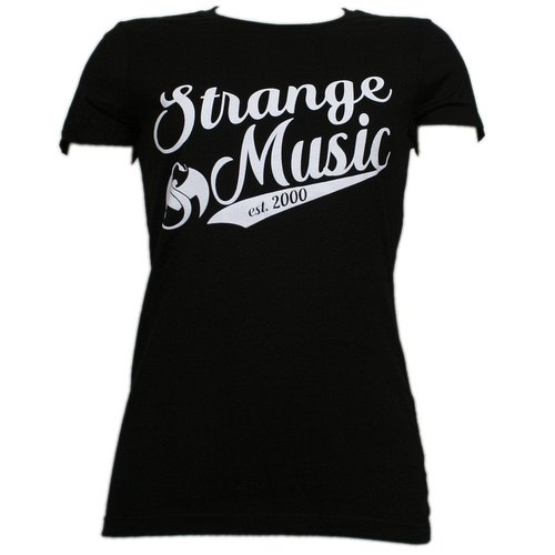 Strange Music - Black League Ladies T-Shirt