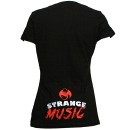 Strange Music - Black I Like It Strange Ladies V-Neck T-Shirt