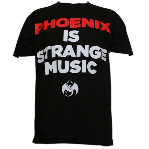 Strange Music - Black Phoenix is Strange Music Limited Edition T-Shirt