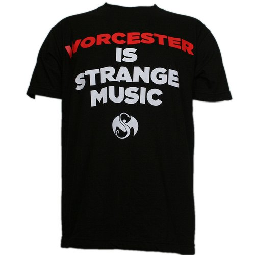 Strange Music - Black Worchester is Strange Music Limited Edition T-Shirt