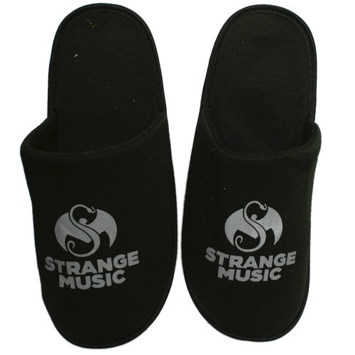 Strange Music - Black  Slippers