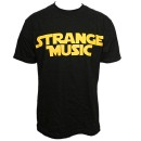Strange Music - Black Galaxy T-Shirt - Medium