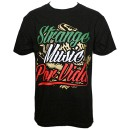 Strange Music - Black Por Vida T-Shirt - 5-XL