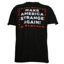 Strange Music - Black Strange Again T-Shirt - Large
