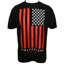 Strange Music - Black Strangeland Flag T-Shirt - Large