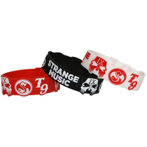 Strange Music -   / Tech N9ne Silicone Bracelets (Set of 3)