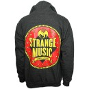 Strange Music - Charcoal Heather Circus Zip Hoodie