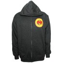 Strange Music - Charcoal Heather Circus Zip Hoodie - Extra Large