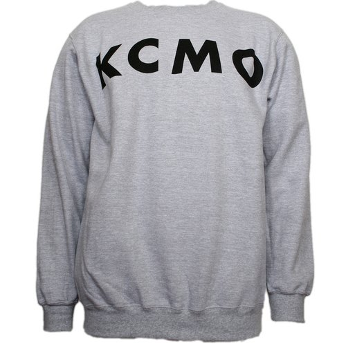 Strange Music - Heather Gray Athletic KCMO Sweatshirt