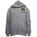 Strange Music - Heather Gray Empire Zip Hoodie - Large