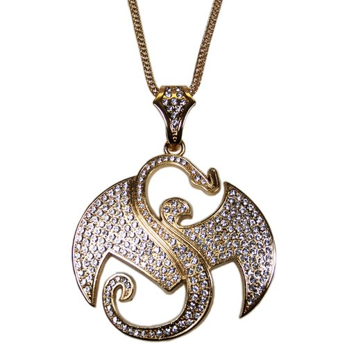 Strange music gold bling pendant includes chain as pictured 3 strange music goldtone bling pendant click to enlarge mozeypictures Choice Image