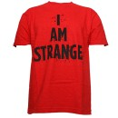 Strange Music - Red I Am Strange T-Shirt - Extra Large