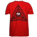 Strange Music - Red Pyramid T-Shirt - Large