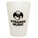 Strange Music - White Silicone Shot Glass